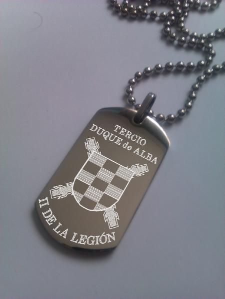 Chapa militar de la Legión